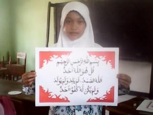 Juara Lomba Kaligrafi Al-Quran