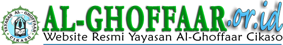 Website Resmi Yayasan Al-Ghoffaar Cikaso